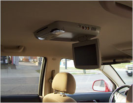 Overhead DVD Players