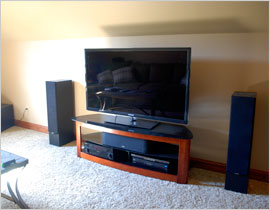 Portsmouth, OH - home theater